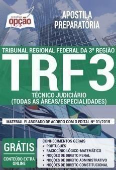 TÉCNICO JUDICIÁRIO (TODAS AS ÁREAS/ESPECIALIDADES)
