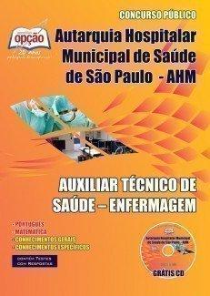 AUXILIAR TÉCNICO DE SAÚDE - ENFERMAGEM
