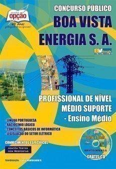 Apostila Profissional De Nível Médio Suporte - Concurso Boa Vista Energia S.A....