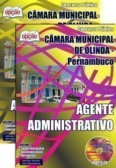Câmara Municipal de Olinda / PE-GUARDA VIGILANTE-AGENTE TÉCNICO-AGENTE ADMINISTRATIVO