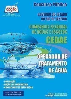 Apostila Operador De Tratamento De água - Concurso Cedae / RJ...