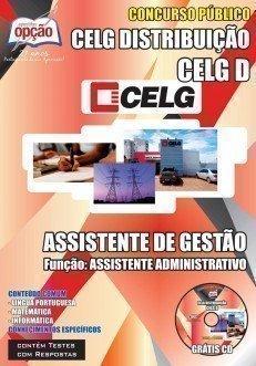 ApostilaAssistente de gestão Celg Distribuição S/Aconcurso 2014
