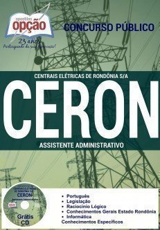 Apostila CERON - Eletrobrás - Centrais Elétricas Rondônia RO.