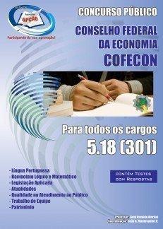 Apostila Conselho Federal De Economia - 5.18 - Concurso Cofecon...