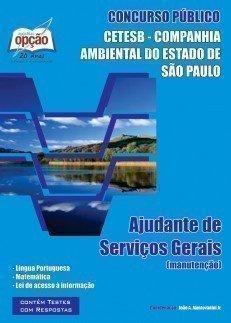 Apostila Ajudante De Serviços Gerais - Concurso Companhia Ambiental Estado De S...
