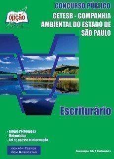 Apostila Escriturário - Concurso Companhia Ambiental Estado De São Paulo (cete...