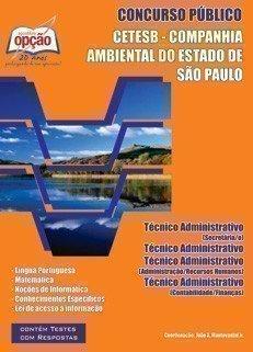 Apostila Técnico Administrativo - Concurso Companhia Ambiental Estado De São P...