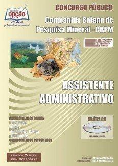 Apostila Assistente Administrativo - Concurso Companhia Baiana De Pesquisa Miner...