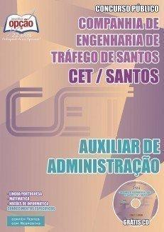 AUXILIAR DE ADMINISTRAÇÃO - CET - Santos - SP