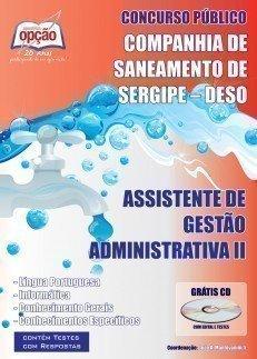 ASSISTENTE DE GESTÃO ADMINISTRATIVA II
