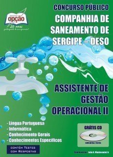 Apostila Assistente De Gestão Operacional Ii - Concurso Companhia De Saneamento...