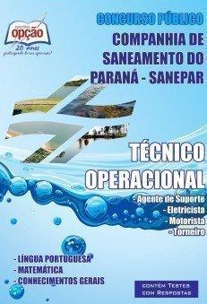 Apostila Técnico Operacional - Concurso Companhia De Saneamento Do Paraná (san...