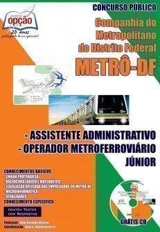 ASSISTENTE ADMINISTRATIVO E OPERADOR METROFERROVIÁRIO JR