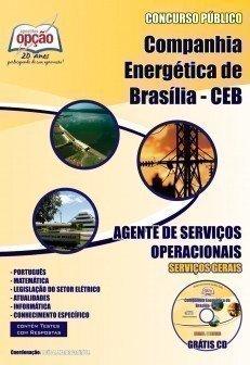 Apostila Agente De Serviços Operacionais - Concurso Companhia Energética De Br...