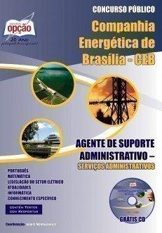 Apostila Agente De Suporte Administrativo - Concurso Companhia Energética De Br...