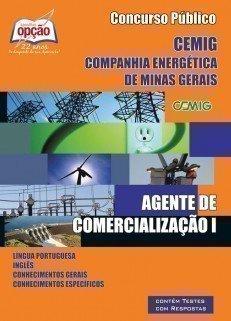 Apostila Agente De Comercialização I - Concurso Companhia Energética De Minas...