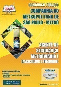 Apostila Agente De Segurança Metroviária I - Concurso Companhia Metropolitano ...