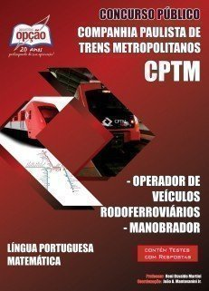 Apostila Operador De Veículos Rodoferroviários / Manobrador - Concurso Companh...