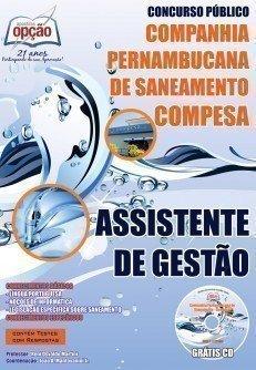 Apostila concurso Compesa/PE ASSISTENTE DE GESTÃO