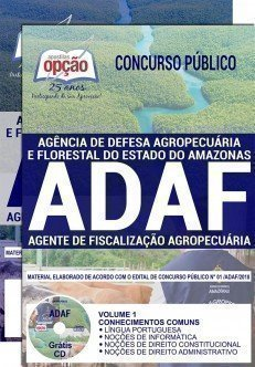 AGENTE DE FISCALIZAÇÃO AGROPECUÁRIA