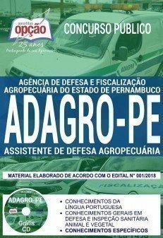 ASSISTENTE DE DEFESA AGROPECUÁRIA