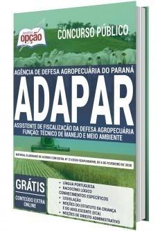 ASSISTENTE DE FISCALIZAÇÃO DA DEFESA AGROPECUÁRIA