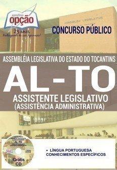 Apostila AL-TO ASSISTENTE LEGISLATIVO (ASSISTÊNCIA ADMINISTRATIVA)