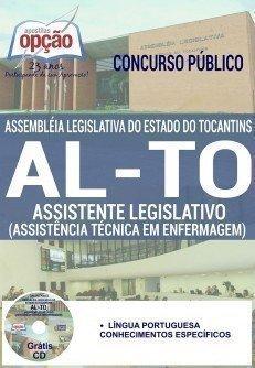 apostila Concurso AL-TO 2016 ASSISTENTE LEGISLATIVO (ASSISTÊNCIA TÉCNICA EM ENFERMAGEM)