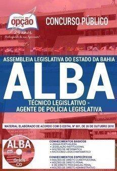 TÉCNICO LEGISLATIVO - AGENTE DE POLÍCIA LEGISLATIVA