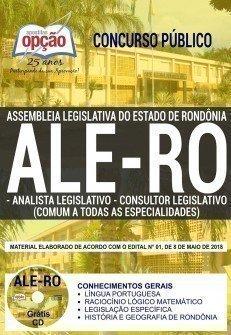 ANALISTA LEGISLATIVO E CONSULTOR LEGISLATIVO (COMUM A TODAS AS ESPECIALIDADES)