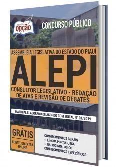CONSULTOR LEGISLATIVO - REDAÇÃO DE ATAS E REVISÃO DE DEBATES