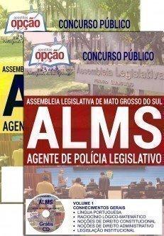 Apostila concurso Assembléia Legislativa de Mato Grosso do Sul - ALMS 2016 AGENTE DE POLÍCIA LEGISLATIVO