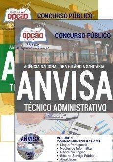 Apostila Técnico Administrativo Anvisa
