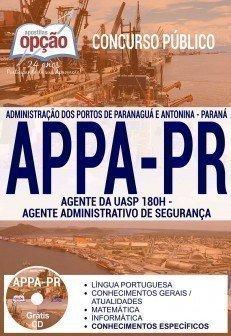 AGENTE DA UASP 180H - AGENTE ADMINISTRATIVO DE SEGURANÇA