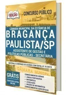 ASSISTENTE DE GESTÃO E POLÍTICAS PÚBLICAS - SECRETÁRIA