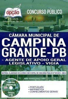 AGENTE DE APOIO GERAL LEGISLATIVO E VIGIA
