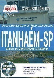 Apostila Concurso Câmara de Itanhaém 2017 | AGENTE DE MANUTENÇÃO E ZELADORIA