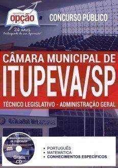 Apostila Câmara de Itupeva TÉCNICO LEGISLATIVO.