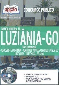 Apostila Concurso Câmara de Luziânia 2016 Todos os Cargos DE NÍVEL FUNDAMENTAL