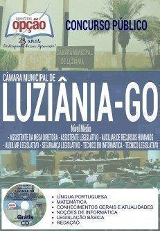 Apostila Câmara de Luziânia GO 2016 CARGOS DE NÍVEL MÉDIO