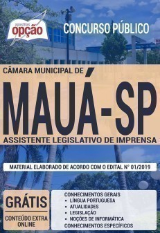ASSISTENTE LEGISLATIVO DE IMPRENSA