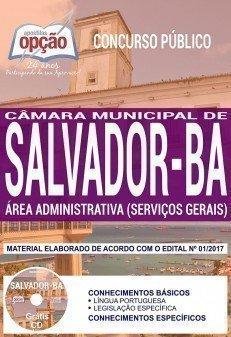 Apostila Concurso Câmara de Salvador 2018 | ÁREA ADMINISTRATIVA (SERVIÇOS GERAIS)