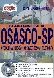 OFICIAL DE MANUTENÇÃO, OPERADOR DE SOM E TELEFONISTA