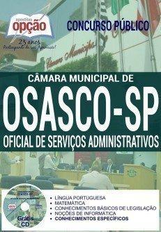 Apostila Concurso Câmara de Osasco Oficial de Serviços Administrativos