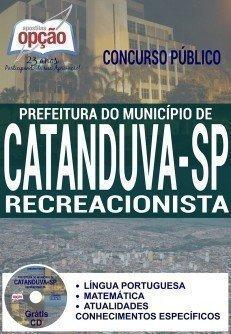 Apostila Prefeitura de Catanduva 2016 Recreacionista.