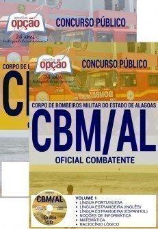 Apostila Concurso CBM AL 2017 | OFICIAL COMBATENTE