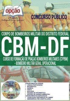 Apostila BOMBEIRO MILITAR DF - GERAL OPERACIONAL