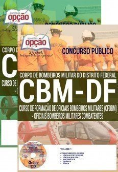 Apostila  concurso CBMDF - OFICIAIS BOMBEIROS MILITARES COMBATENTES