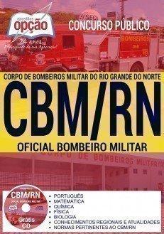 Apostila Concurso CBM RN 2017 - OFICIAL BOMBEIRO MILITAR