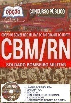 Apostila Concurso CBM RN 2017 - SOLDADO BOMBEIRO MILITAR